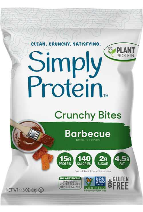 image of SimplyProtein™ Crunchy Bites - Barbecue