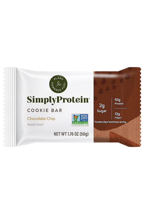 image of SimplyProtein® Baked Bars - Chocolate Chip (4-bar box)
