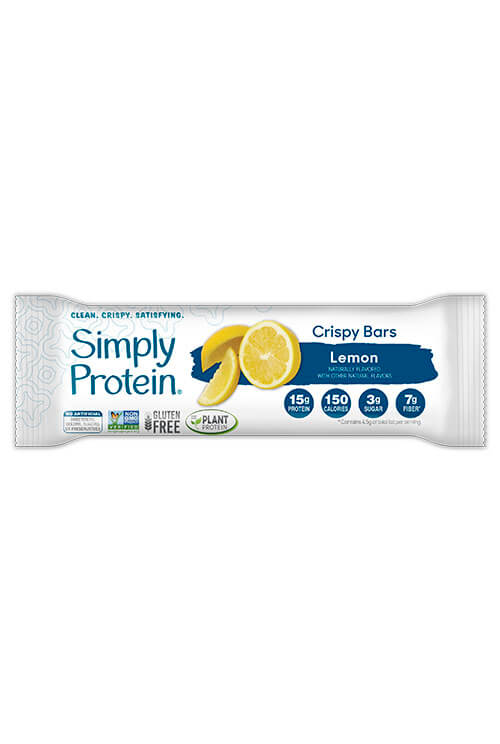 image of SimplyProtein® Crispy Bars - Lemon (4-bar box)
