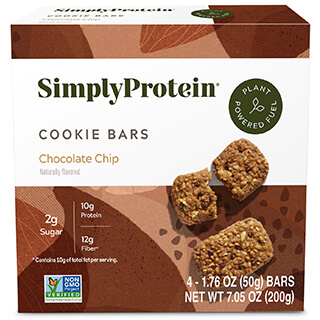 SimplyProtein® Baked Bars - Chocolate Chip (4-bar box) - Get More Information