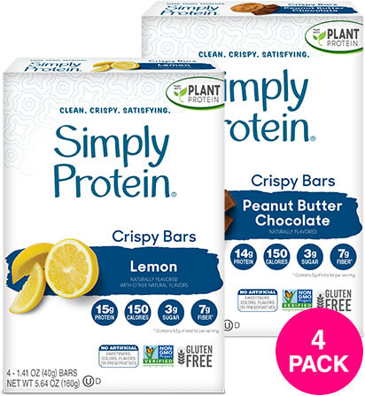 SimplyProtein® Crispy Bars Variety Pack - Get More Information