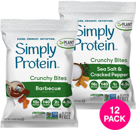 image of SimplyProtein™ Crunchy Bites Variety Pack